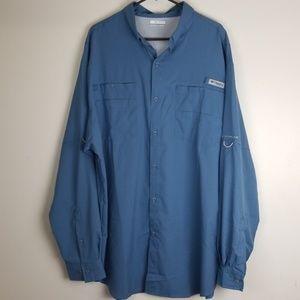 Columbia PFG shirt size 2x